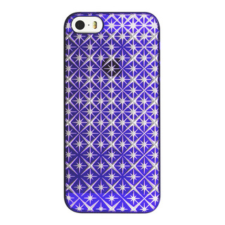 "【Web限定】AIR JACKET ""kiriko"" for iPhone SE/5s/5 (七宝柄・葡萄色)"