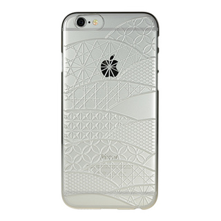 "【Web限定】AIR JACKET ""kiriko"" for iPhone6s/6 (千代柄・クリスタル)"