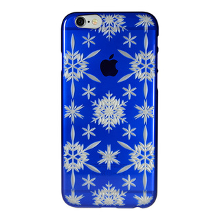 "【Web限定】AIR JACKET ""kiriko"" for iPhone6s/6 (六花・瑠璃色)"