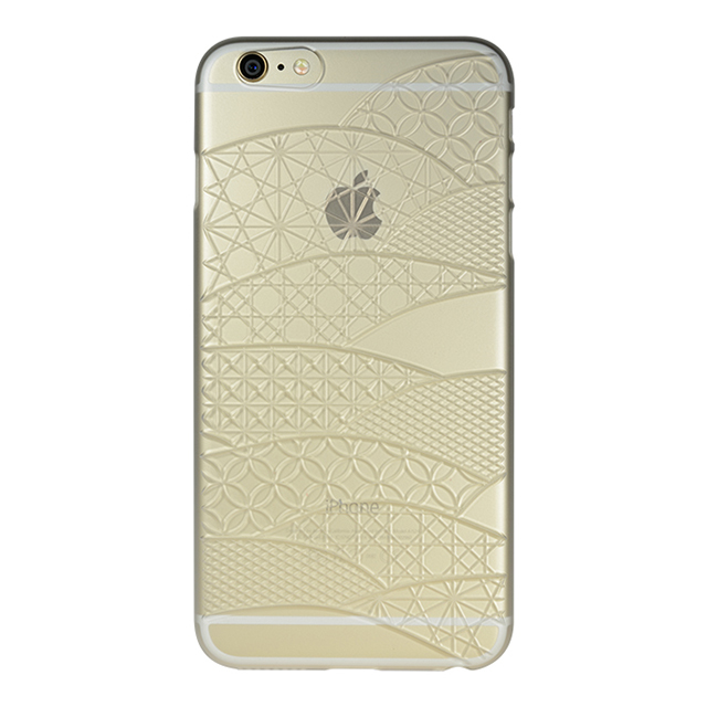 "【Web限定】AIR JACKET ""kiriko"" for iPhone6s Plus/6 Plus (千代柄・磨りガラス)"