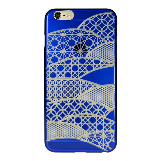 "【Web限定】AIR JACKET ""kiriko"" for iPhone6s Plus/6 Plus (千代柄・瑠璃色)"