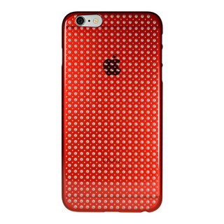 "【Web限定】AIR JACKET ""kiriko"" for iPhone6s Plus/6 Plus (SODA・茜色)"