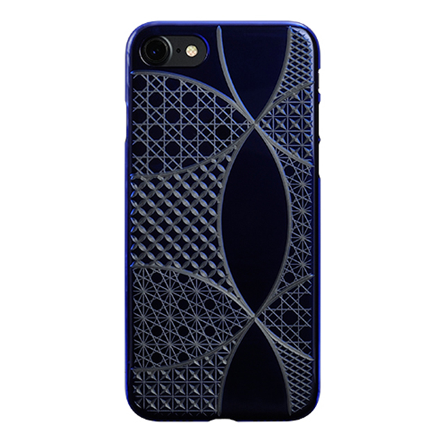 "1eef1c7025 Web限定】AIR JACKET ""kiriko"" for iPhone8/7 千代柄・七宝(瑠璃) POWER ..."