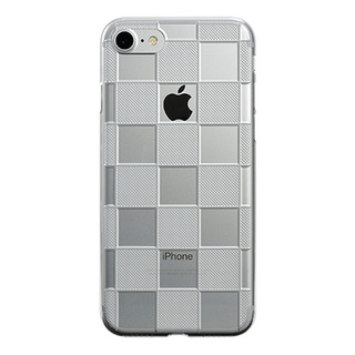 "【Web限定】AIR JACKET ""kiriko"" for iPhone8/7  市松(クリア)"