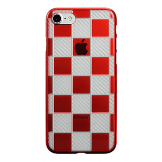 "【Web限定】AIR JACKET ""kiriko"" for iPhone7  市松(紅)"