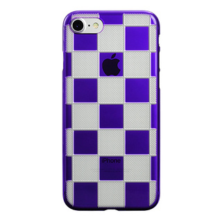 "【Web限定】AIR JACKET ""kiriko"" for iPhone7  市松(葡萄)"