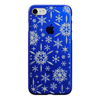 "【Web限定】AIR JACKET ""kiriko"" for iPhone8/7  雪片(瑠璃)"