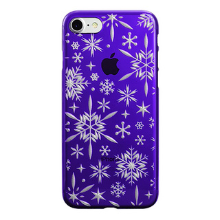 "【Web限定】AIR JACKET ""kiriko"" for iPhone8/7  雪片(葡萄)"