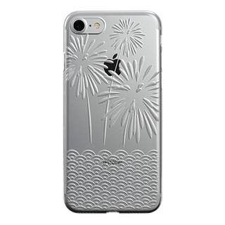 "【Web限定】AIR JACKET ""kiriko"" for iPhone7  花火(クリア)"