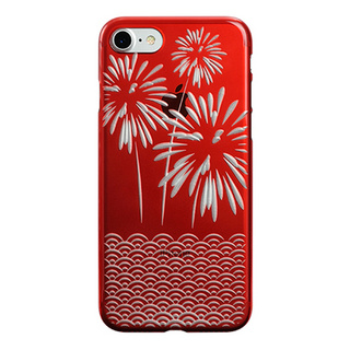 "【Web限定】AIR JACKET ""kiriko"" for iPhone7  花火(紅)"