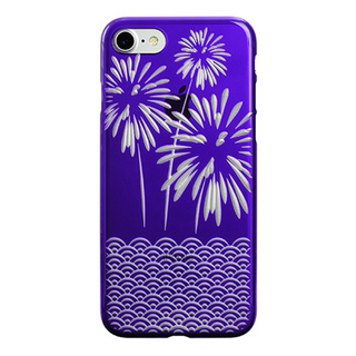"【Web限定】AIR JACKET ""kiriko"" for iPhone7  花火(葡萄)"