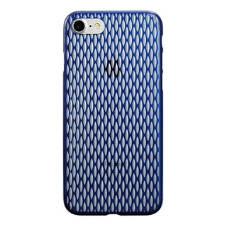 "【Web限定】AIR JACKET ""kiriko"" for iPhone7  米つなぎ(藍)"