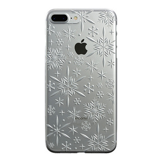 "【Web限定】AIR JACKET ""kiriko"" for iPhone8 Plus/7 Plus 雪片(クリア)"