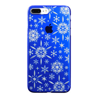 "【Web限定】AIR JACKET ""kiriko"" for iPhone8 Plus/7 Plus 雪片(瑠璃)"