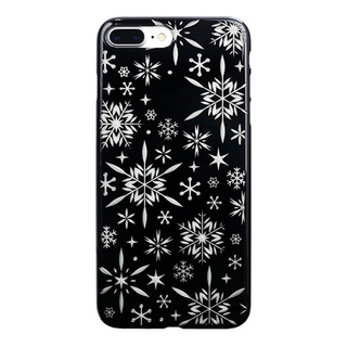 "【Web限定】AIR JACKET ""kiriko"" for iPhone7 Plus 雪片(ピアノブラック)"