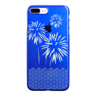 "【Web限定】AIR JACKET ""kiriko"" for iPhone8 Plus/7 Plus 花火(瑠璃)"