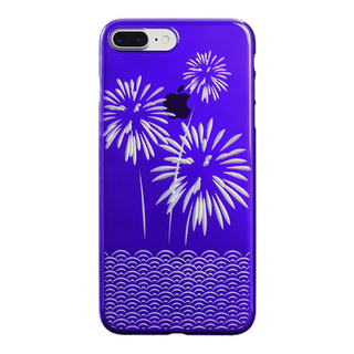 "【Web限定】AIR JACKET ""kiriko"" for iPhone8 Plus/7 Plus 花火(葡萄)"