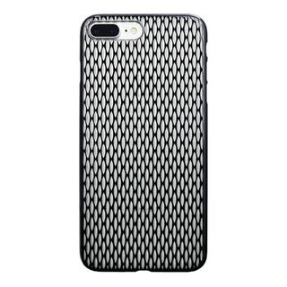 "【Web限定】AIR JACKET ""kiriko"" for iPhone8 Plus/7 Plus 米つなぎ(ピアノブラック)"
