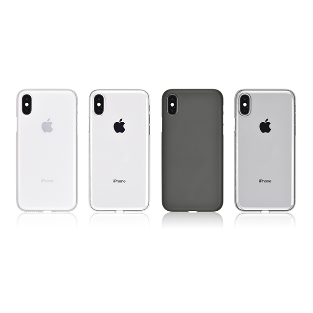 Air Jacket for iPhone X (Rubber Black)