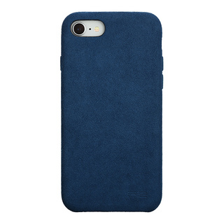 Ultrasuede(R) Air jacket for iPhone8/7 (Blue)