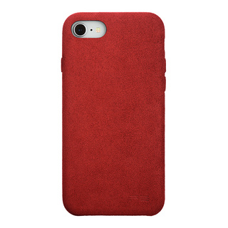 Ultrasuede(R) Air jacket for iPhone8/7 (Red)