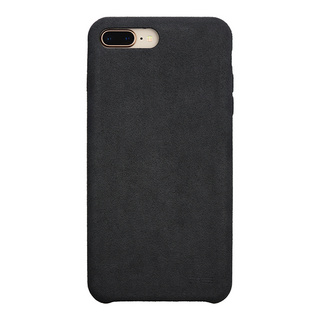Ultrasuede(R) Air jacket for iPhone8 Plus/7 Plus  (Asphalt)