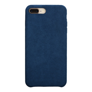 Ultrasuede(R) Air jacket for iPhone8 Plus/7 Plus  (Blue)
