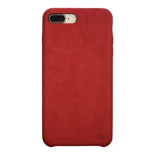 Ultrasuede(R) Air jacket for iPhone8 Plus/7 Plus  (Red)