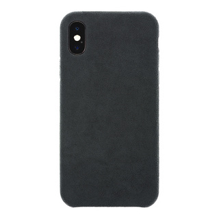Ultrasuede(R) Air Jacket for iPhone XS/X (Asphalt)
