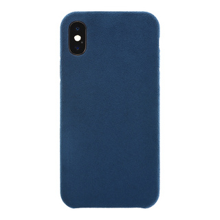Ultrasuede(R) Air Jacket for iPhone X (Blue)