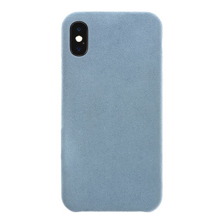 Ultrasuede(R) Air Jacket for iPhone XS/X (Sky)