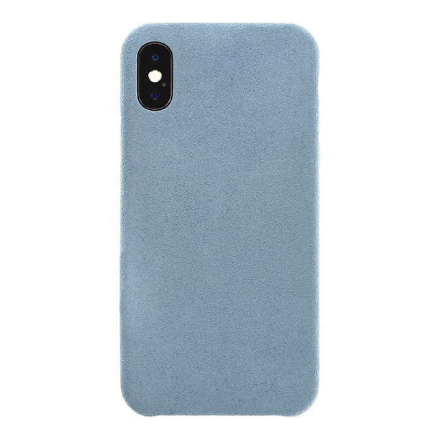 Ultrasuede(R) Air Jacket for iPhone X (Sky)