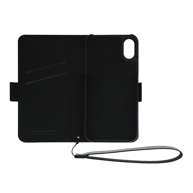 Leather Flip Case for iPhone XS/X (Black)