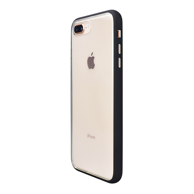 Shock proof Air Jacket for iPhone8 Plus/7 Plus  (Rubber Black)
