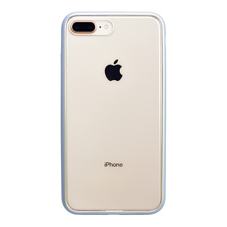 Shock proof Air Jacket for iPhone8 Plus/7 Plus  (Rubber Silver)