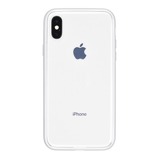 Shock proof Air Jacket for iPhone X (Rubber Silver)