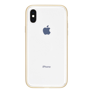 Shock proof Air Jacket for iPhone X (Rubber Gold)