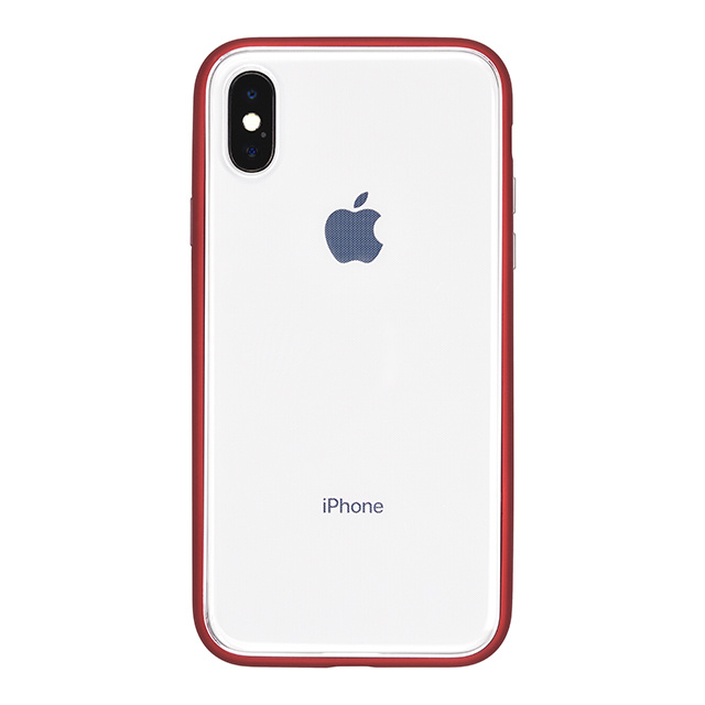 Shock proof Air Jacket for iPhone X (Rubber Red)