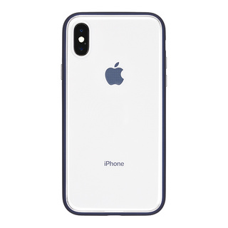 Shock proof Air Jacket for iPhone X (Rubber Navy)
