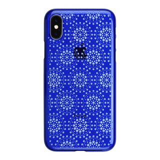 "【Web限定】AIR JACKET ""kiriko"" for iPhone X 万華鏡 (瑠璃)"