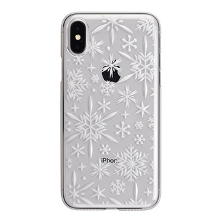 "【Web限定】AIR JACKET ""kiriko"" for iPhone X 雪片 (クリア)"