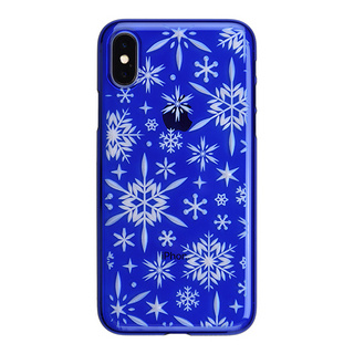"【Web限定】AIR JACKET ""kiriko"" for iPhone X 雪片 (瑠璃)"