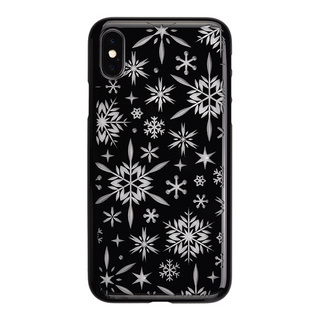 "【Web限定】AIR JACKET ""kiriko"" for iPhone X 雪片 (ピアノブラック)"