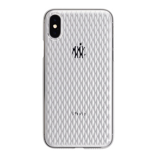 "【Web限定】AIR JACKET ""kiriko"" for iPhone X 米つなぎ (クリア)"