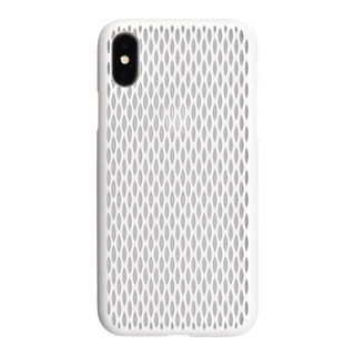 "【Web限定】AIR JACKET ""kiriko"" for iPhone X 米つなぎ (ピュアホワイト)"