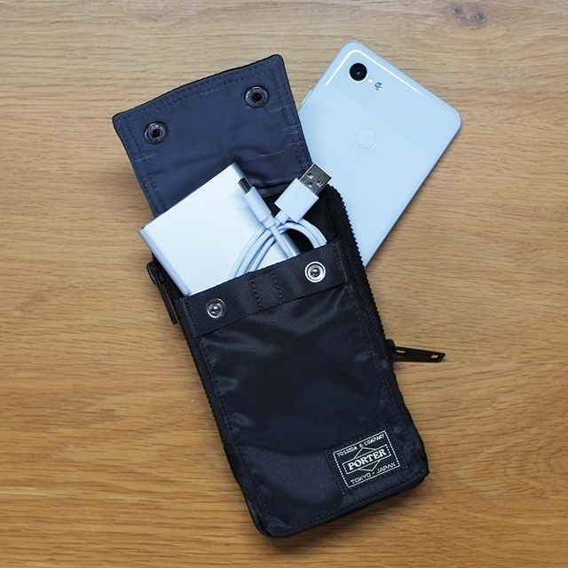 Mobile Pouch for Pixel (Navy)