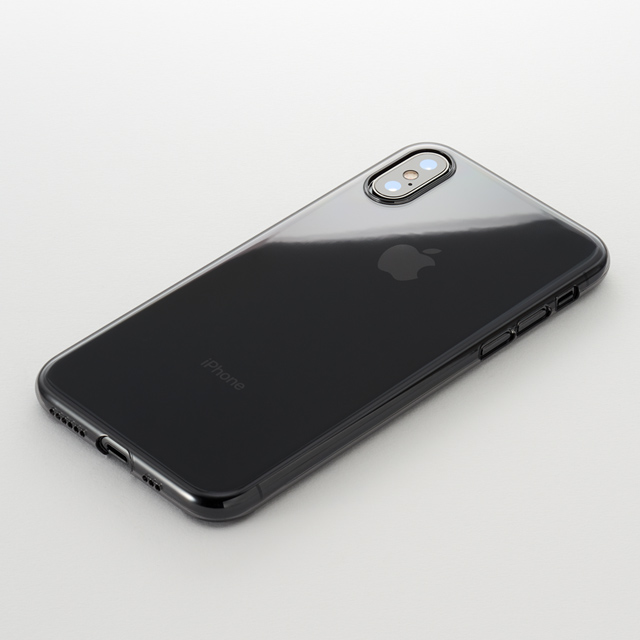 Air Jacket for iPhone XS (Clear Black)
