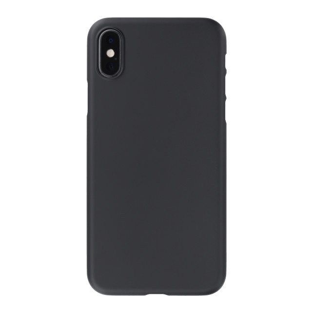 Air Jacket for iPhone XS (Rubber Black)