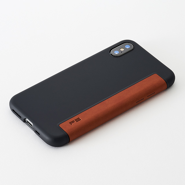 Air jacket Flip for iPhone XS (Brown)
