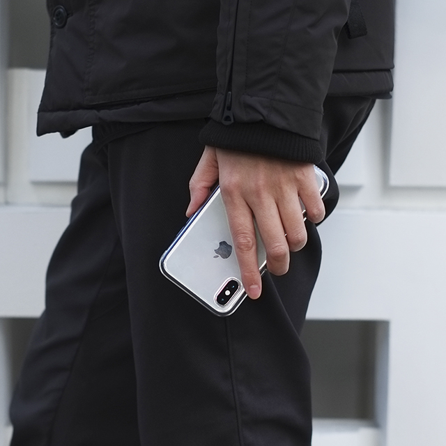 Air jacket Shockproof for iPhone XS (Black)